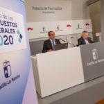 Los presupuestos regionales de 2020 prevén 800 millones más para deuda y una subida del 8% en gasto social