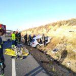 Dos fallecidos y siete heridos en dos accidentes de tráfico en Toledo