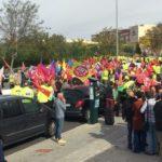 Nueva protesta de trabajadores de ambulancias con un ultimátum: huelga indefinida si no hay subida salarial