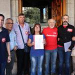 """UGT y CCOO Toledo manifiestan al Gobierno las """"urgencias que preocupan a la sociedad"""""""