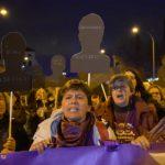 """Al grito de """"nosotras no matamos"""" centenares de personas se manifiestan en Toledo"""