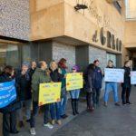 Periodistas y fotógrafos de La Tribuna de Toledo se rebelan contra Promecal en un acto convocado por el propio medio