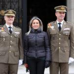 Antonio Armada, nuevo director de la Academia de Infantería, se compromete a fomentar los valores éticos y morales