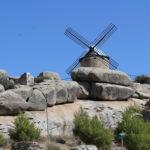 Así luce el molino de viento 'Lirio' de Las Ventas con Peña Aguilera tras su rehabilitación