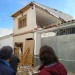 Hospitalizada una mujer de 78 años tras el derrumbe de una casa en Miguel Esteban por una explosión
