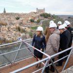 La ermita del Valle de Toledo será más accesible en las próximas semanas con su nueva pasarela