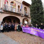Concentración en La Puebla de Almoradiel contra el cuarto asesinato machista de 2020