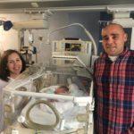 El primer bebé de 2020 en Castilla-La Mancha se llama Gonzalo y es de Camuñas