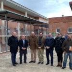 Reparan la cubierta del pabellón del instituto de Belvís de la Jara dañada por fuertes vientos en diciembre