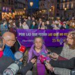 """Toledo vuelve a gritar """"ni una menos, vivas nos queremos"""""""