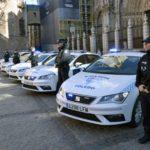 Cinco nuevos vehículos para la Policía Local de Toledo equipados con desfibriladores