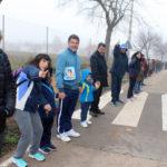 GALERÍA | Una cadena humana en Villafranca pide agua para los humedales