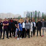 El Polígono estrena su pista de street workout
