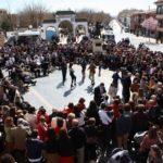 Miguel Esteban celebra la pintoresca Fiesta de la Jota Pujada, con más de 300 años de tradición