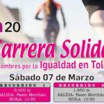 'La igualdad es nuestra meta': lema de la VII Carrera Solidaria que acoge Toledo el 7 de marzo