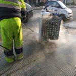 Plan especial de limpieza y desinfección de las calles y mobiliario de la vía pública en Talavera