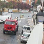 Desinfección diaria de calles, centro de salud, farmacias y centros comerciales en Illescas
