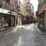 Itinerarios alternativos y cortes de tráfico por las obras que comienzan el lunes en Hombre de Palo en Toledo