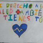 Escolares de Toledo crean dibujos, murales, cuentos y poesías sobre el derecho a la salud en tiempos de coronavirus