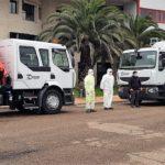 Una empresa talaverana cede dos camiones cisterna a la Diputación para desinfectar municipios