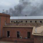 Internos de la prisión Ocaña I queman papeleras y destrozan mobiliario tras sufrir uno de ellos un ataque epiléptico
