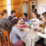 Las familias, protección frente a la COVID