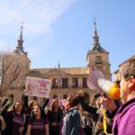 El coronavirus no logra frenar el movimiento feminista de Toledo