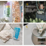 Marihuana, cocaína e incluso un intento de fuga: seis detenidos en Mora por tráfico de drogas