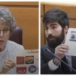 """El diputado nacional de Vox por Toledo afirma que el lazo de luto de RTVE es """"una señal subliminal"""" de apoyo al Gobierno"""
