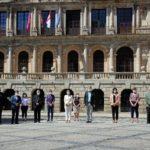 GALERÍA | Así ha sido el minuto de silencio en la provincia de Toledo el último día de luto oficial