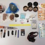 Dos detenidos en Gálvez con metanfetamina, LSD, opio, cocaína y más de medio kilo de amapola blanca