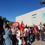La plantilla de Digitex-Talavera se suma a las protestas contra el despido de 451 personas