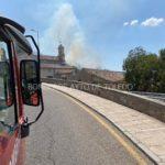 Extinguido un incendio en el Valle de Toledo