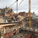 El hotel de lujo previsto en el Casco de Toledo: obra enquistada, rechazo vecinal y avisos de Icomos y la Academia de Historia