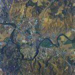 Así se ve Toledo desde la Estación Espacial Internacional: un astronauta ruso saluda con esta fotografía