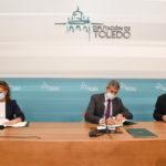 Diputación, Junta y Cruz Roja renuevan su compromiso de lucha contra la pobreza infantil en Toledo