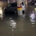 VÍDEOS | Las lluvias provocan la inundación del parking de Urgencias del Hospital de Talavera
