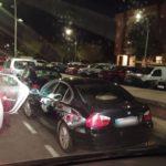 Detenidos los tres acompañantes de una conductora ebria tras agredir e insultar a agentes de la Policía Local