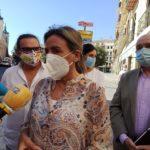 """La alcaldesa de Toledo pide """"coherencia"""" y """"seriedad"""" con el cierre perimetral a la presidenta de la Comunidad de Madrid"""