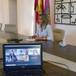 La alcaldesa de Toledo aborda con Madrid, Burgos, Bilbao y Santander estrategias comunes para la recuperación
