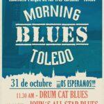 Blues por la mañana en el parque Tres Culturas: propuesta cultural segura para este fin de semana en Toledo