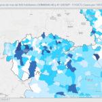 La incidencia de COVID en Toledo ronda los 500 casos por cada 100.000 habitantes pese a las restricciones en más de 90 municipios