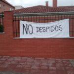 Concentración contra los despidos en las Escuelas Infantiles de Illescas en las que el Ayuntamiento no romperá los grupos burbuja