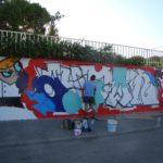 Los vecinos de Quintanar ceden sus propios muros para celebrar la IV Exhibición de Graffiti y Arte Urbano
