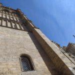 Casi un centenar de operarios trabajaron en la restauración de la torre de la Catedral