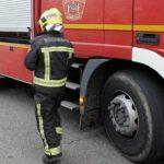 Arde la nave de una empresa de materiales de construcción de Villafranca de los Caballeros sin dejar heridos