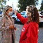 La alcaldesa de Toledo, confinada tras el positivo en COVID de su jefe de Gabinete