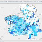 Solo Huecas y Turleque sin COVID en la provincia, donde desciende la incidencia aunque en Talavera es superior a 1.200 casos