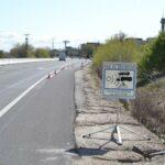 Investigado por conducir una moto a 204 kilómetros por hora en una carretera limitada a 90 en Santo Domingo-Caudilla