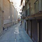 Las obras en la calle Hombre de Palo provocarán el corte de agua en varias calles del Casco histórico